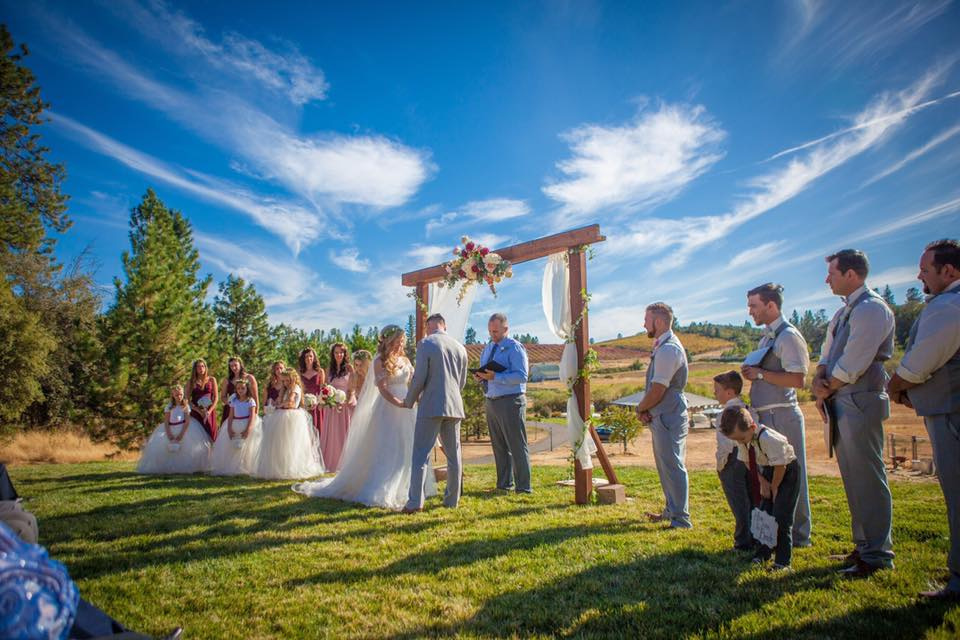 weddings at the winery